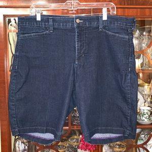 NYDJ denim shorts